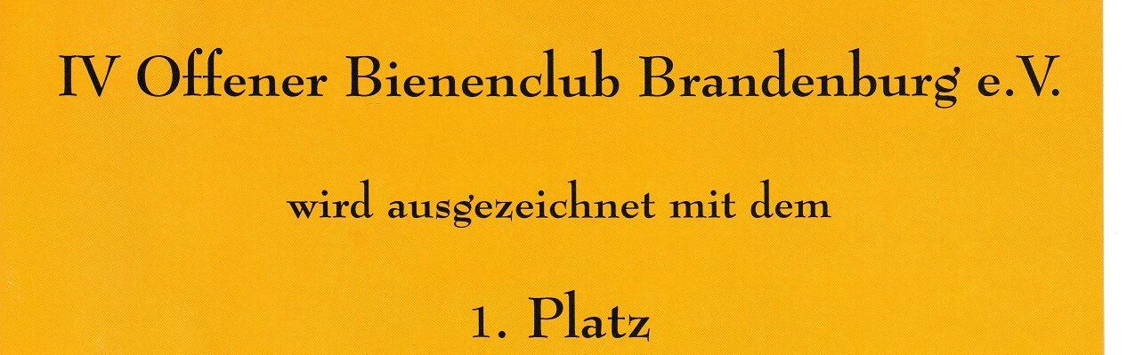 Offener BienenClub Brandenburg e.V.